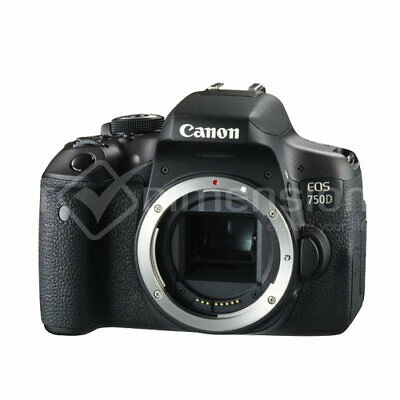Canon EOS 750D Rebel T6i DSLR Camera (Body Only) Multi Language