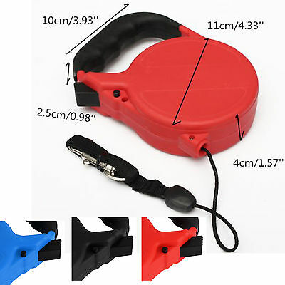 8m STRONG RETRACTABLE DOG PET LEAD LEASH + LOCK SUPPORT UK SELLER