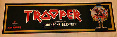 Robinsons Trooper Iron Maiden Beer Rubber Backed Bar Runner *NEW**