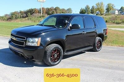 2011 Chevrolet Tahoe Police 2011 Police Used 5.3L V8 16V Automatic RWD SUV 4dr Wholesale 1 Owner New Tires