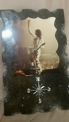 Jimmy Page Clock Plaque Rare