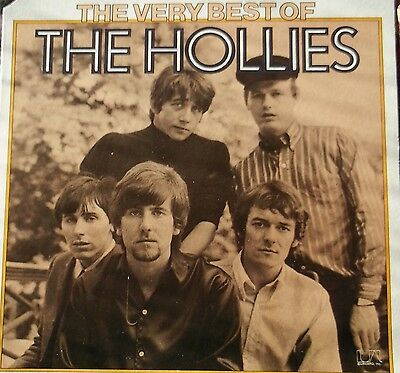 """The Hollies - The Very Best of The Hollies 12"""" Vinyl LP"""