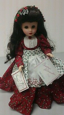 madame alexander 14 inch doll Christmas cookie. nwob