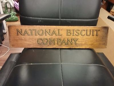 Vintage sign National Biscuit Company- Nabisco