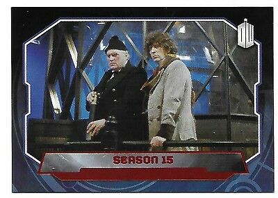 Doctor Who Topps 2015 Red Parallel Card 180 Season 15 32 of 50