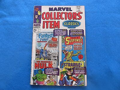 Marvel Collector's Item Classics #7 - Good, some Wrinkling