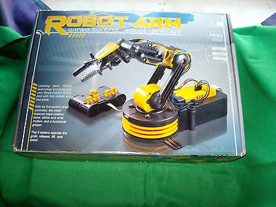 ROBOT ARM Wired Control Kit Robotic Toy Educational