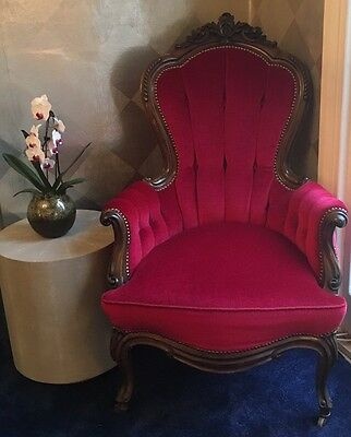 Fabulous Louis Xv Style French 'Fauteuil' Antique Armchair