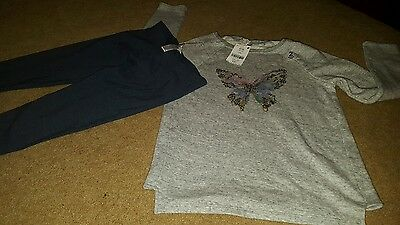 BNWT next girls 2 piece outfit Age 11 years leggings and jumper