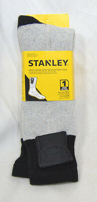 Stanley Battery Operated Heated Thermal Socks Mens Size 10-13 Hunting Fishing