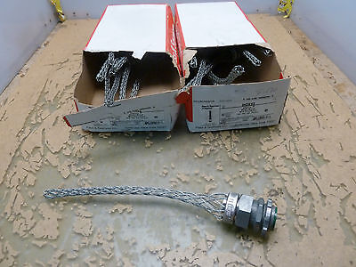 """Pass & Seymour BOX52 Strain relief Box Connector 3/4"""" fit .52-.73 Dia. (22A.1)"""