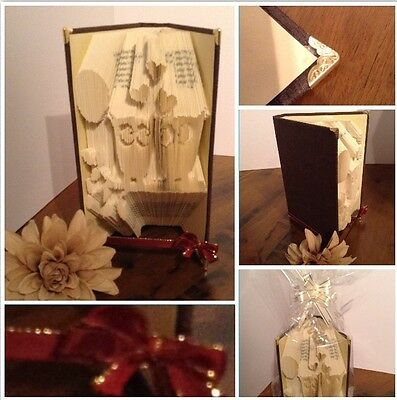Book folded Craft Ideal For Any Occasion Gift