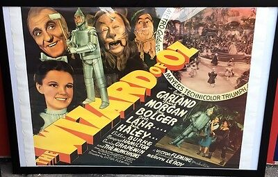 Wizard of Oz (1939) Original Movie Poster 20x28 In Frame