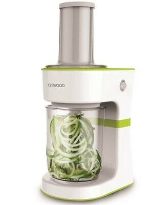 Kenwood FGP200WG 0.5 Litres Electric Spiralizer in White and Green