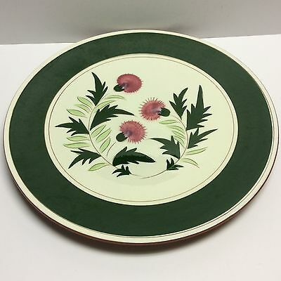 Stangl Pottery Thistle Round Charger Platter Excellent