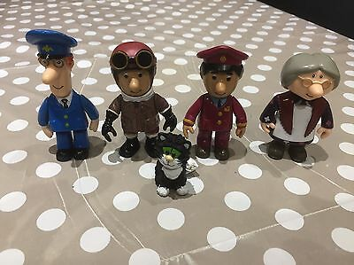 Postman Pat Playsets SDS Bundle Of Large Extra Figures