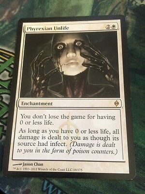 MTG phyrexian unlife - multiple available