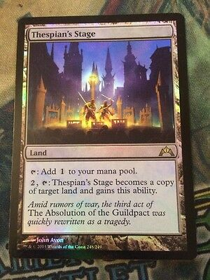MTG Foil Thespian's Stage