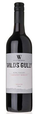 Wood Park `Wild's Gully` Cabernet Merlot 2012 (12 x 750mL), King Valley.