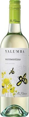 Yalumba `Y Series` Vermentino 2014 (12 x 750mL), SA.