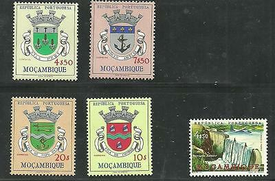 Mozambique Stamps High Value Coat of Arms