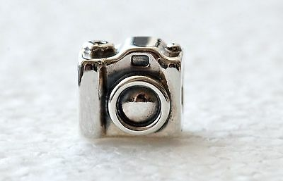 Authentic PANDORA Camera Charm #790961 S925 Silver (01147)