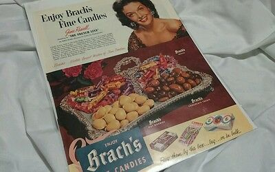 1953 Brach's Candy Ad JANE RUSSELL AD PRINT