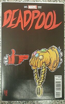 Deadpool # 45 Skottie Young Run The Jewels Variant NM