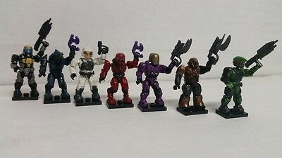 MEGA BLOKS Halo Series 4 Blind mystery pack Common & Rare figures