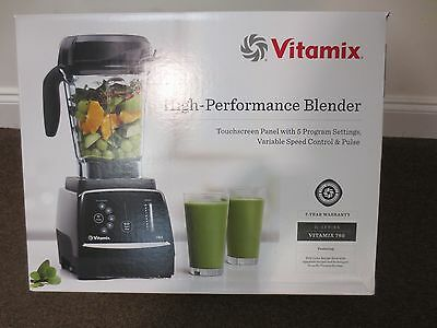 New Vitamix 780 Black Home Blender with Touchscreen Control Panel