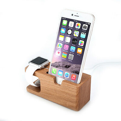 Minisuit Wooden Charger Docking Stand for Apple Watch 38 or 42mm