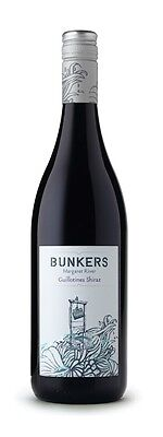 Bunkers `Guillotines` Shiraz 2014 (6 x 750mL), Margaret River, WA.