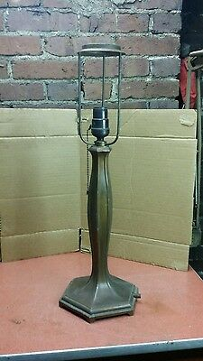 Early 20th Century Art Nouveau Gas Light converted to electric
