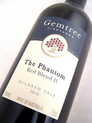 2010 GEMTREE Vineyards The Phantom Red Blend II Isle of Wine