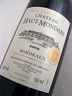 2009 CHATEAU Haut-Mondain Red Bordeaux Isle of Wine