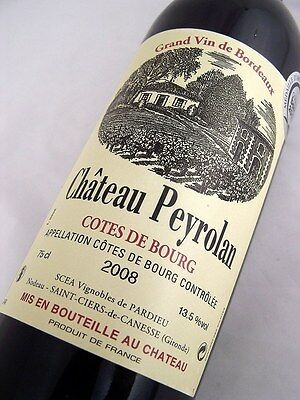 2008 CHATEAU PEYROLAN Red Bordeaux Isle of Wine
