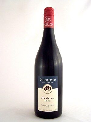 2012 GEMTREE Vineyards Bloodstone Shiraz Isle of Wine