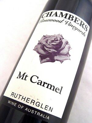 1992 circa NV CHAMBERS Rosewood Winery Mt Carmel Liqueur Port Isle of Wine