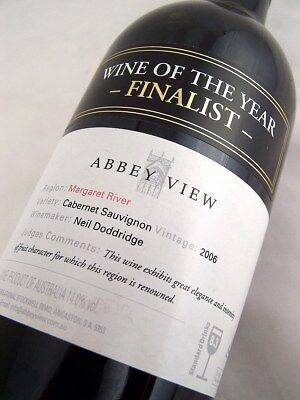 2006 ABBEY VIEW Cabernet Sauvignon Isle of Wine