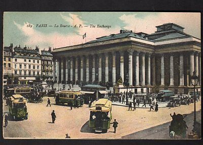 PARIS La Bourse A.P. The Exchange