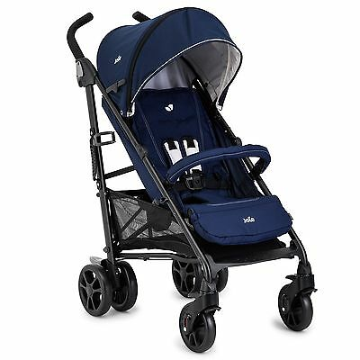 Joie Baby/Child/Kids Brisk LX Stroller/Pram/Pushchair, Midnight Navy