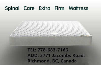 New Bed Extra Firm Coil Mattress Single Double Queen Size