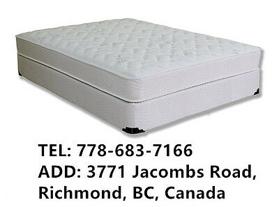 New Bed Medium Firm Coil Mattress Full/ Double Size