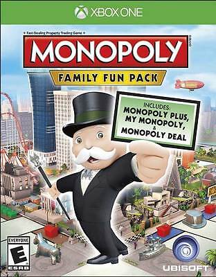 Monopoly Family Fun Pack - Xbox One Game - BRAND NEW SEALED