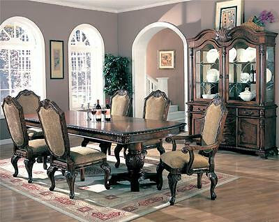 Saint Charles traditional 7 Piece Dining Table Set