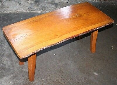 ~ OOAK ~Bespoke ~Nice ~Old ~Vintage ~Tree Slice ~Bench ~Table ~Original ~VGC~