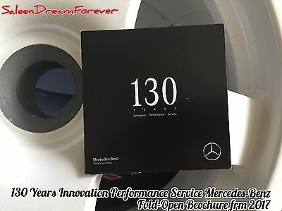 2017 130 Years Innovation Performance Service Mercedes Benz Automotive Brochure