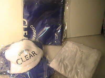 Coopers Clear Shirt & Coopers Clear Cap And Backpack - New