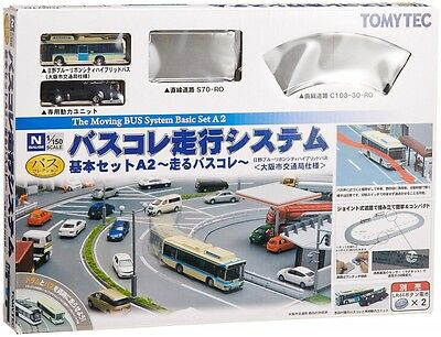 Moving Bus System Basic Set A2 1/150 N scale Tomytec