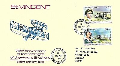 19/10/78 75th ANNIVERSARY OF WRIGHT BROTHERS' FIRST FLIGHT FDC
